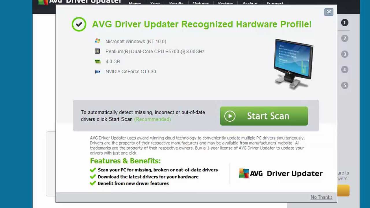 download avg driver updater with crack