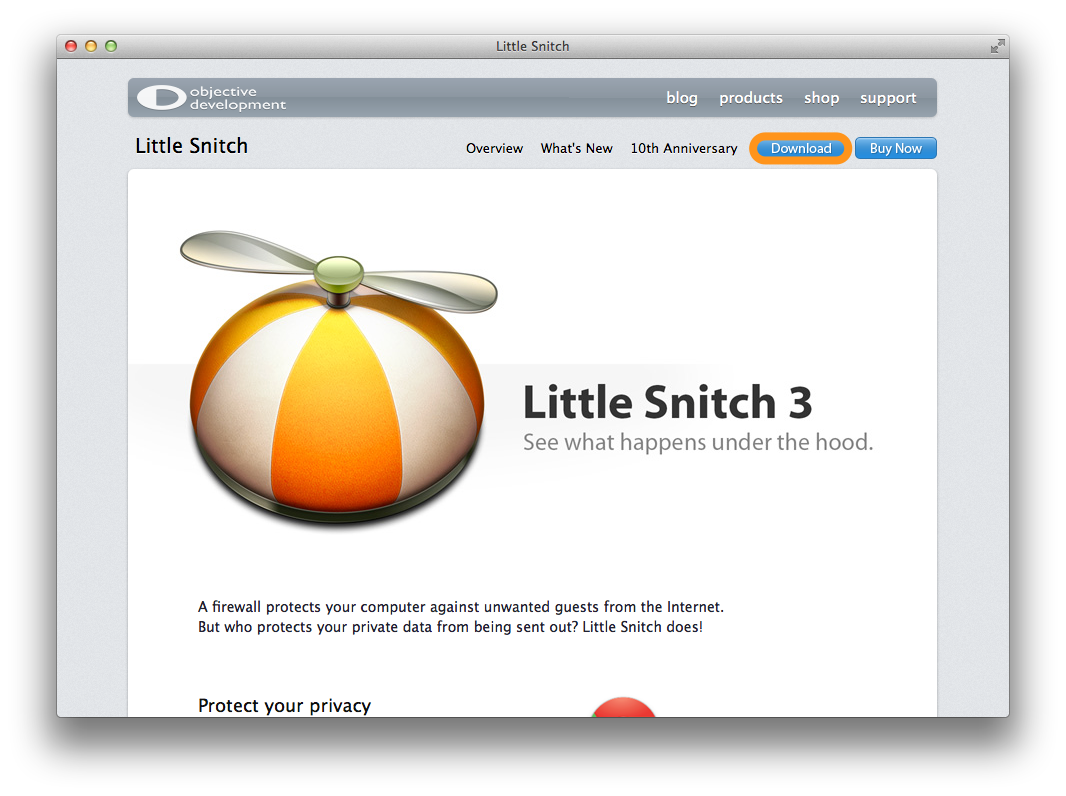 little snitch serial