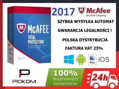 mcafee total protection product key