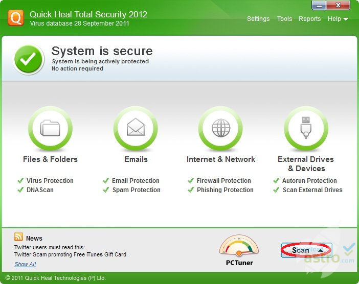quick heal total security antivirus