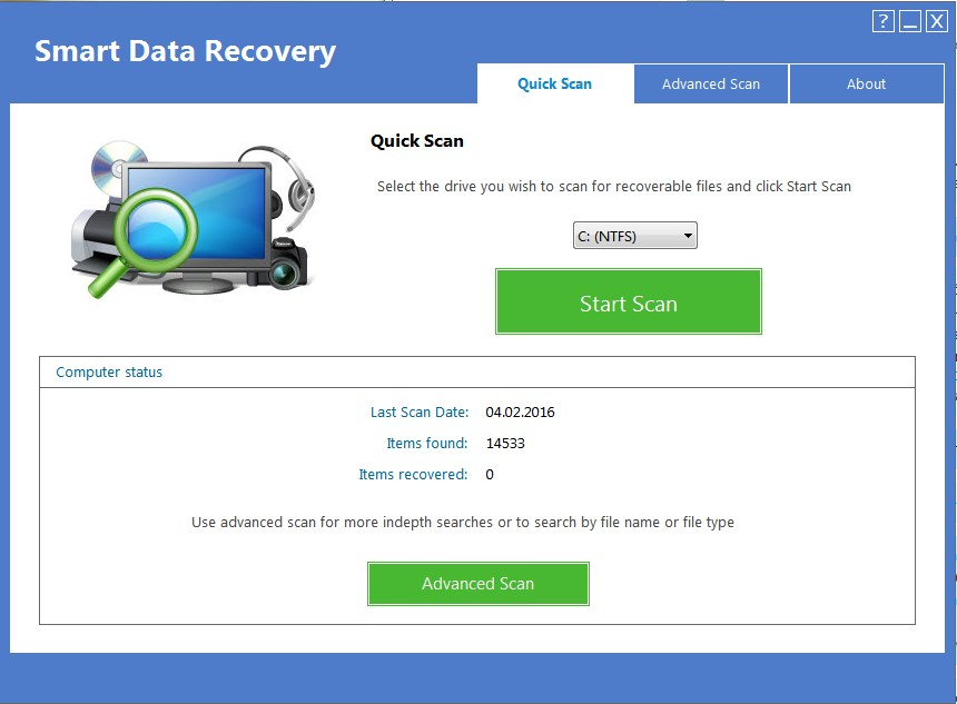 smart data recovery portable