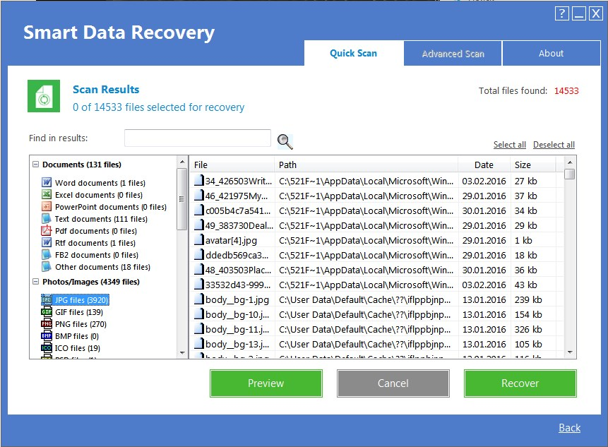 smart data recovery software