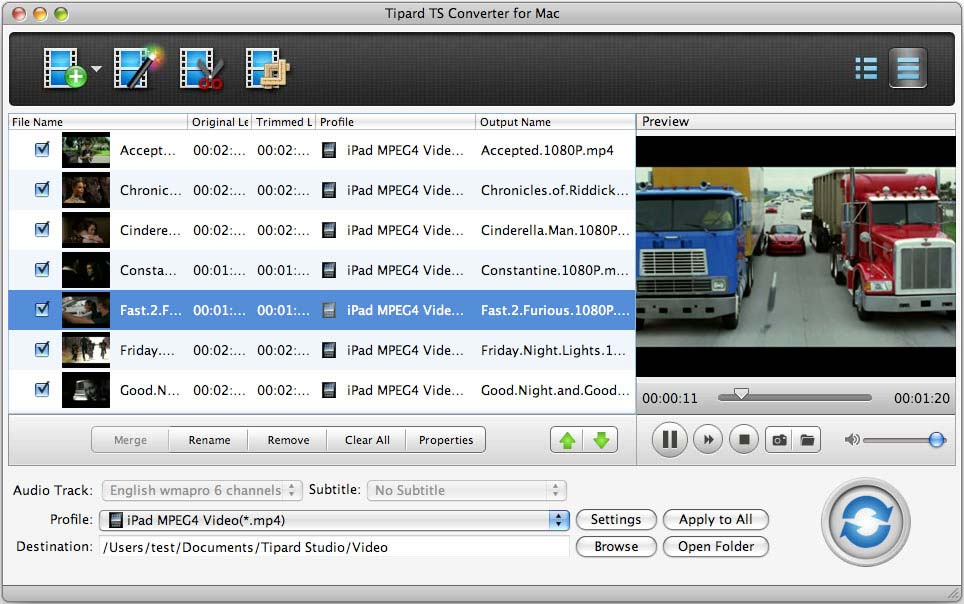 tipard ts converter free