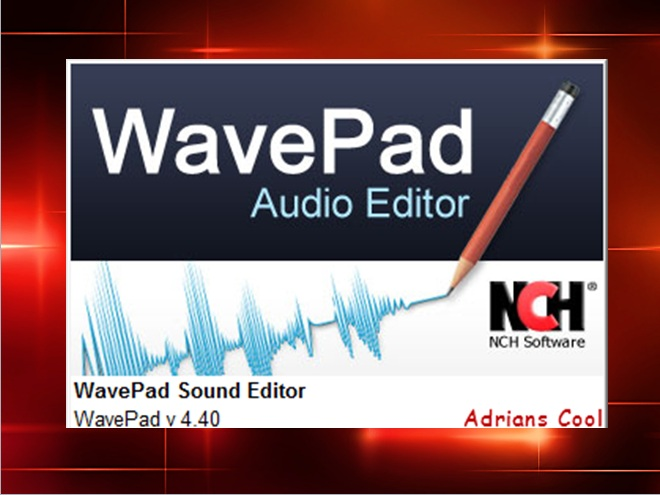 wavepad sound editor code
