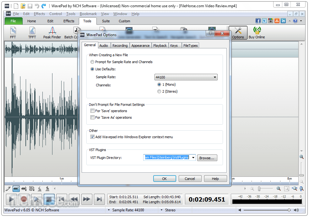 wavepad sound editor download