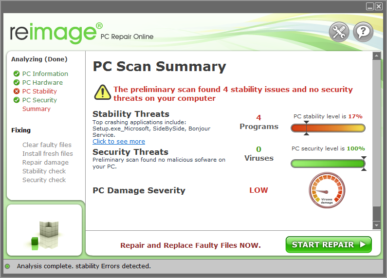 reimage pc repair review