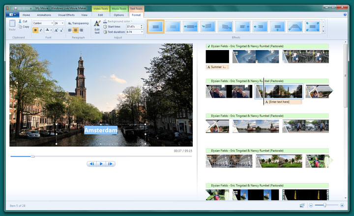 windows live movie maker free download full version