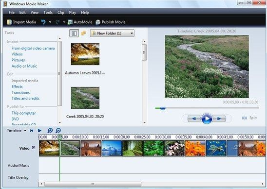 windows live movie maker offline installer