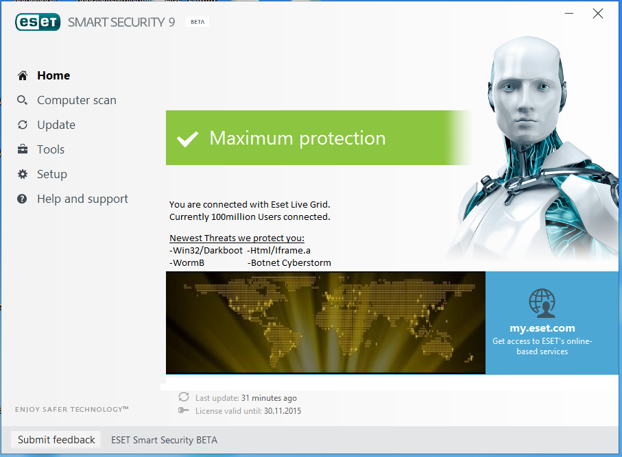 eset antivirus key free download