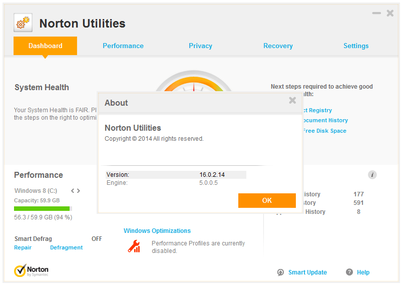 norton utilities free